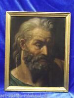 Alter Meister, Ausdrucksstarker Kopf eines Apostels, 19tes Jahrhundert