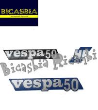 11583 - KIT TARGHETTE ADESIVE  COFANI BAULETTO VESPA 50 125 PK FL HP