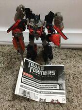 Transformers: Dark of the Moon - MechTech Voyager - Fireburst Optimus Prime