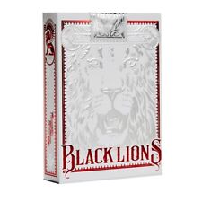 Black Lions Red Edition - David Blaine - Playing Card Deck