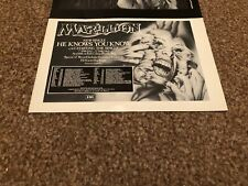 """(BEBK30) ADVERT/POSTER 5X8"""" MARILLION : HE KNOWS YOU KNOW SINGLE"""