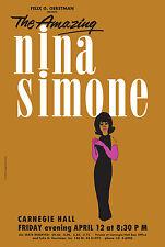 1963 Nina Simone Concert Poster