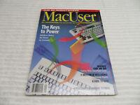 MACUSER MAGAZINE JANUARY 1988 GUC