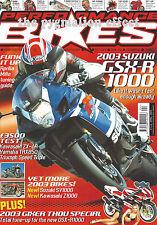 GSX-R1000 TRX850 ZX-6R Triumph Speed Triple SV1000S Z1000 Ronnie Smith R1100S SV