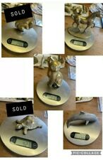 More details for choice of small brass animals @ j sharples. **please see all photos**