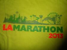 2013 Los Angeles MARATHON RACE SHIRT RUNNING ASICS STADIUM TO SEA ST PATRICKS DA