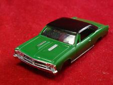 New 1967 Green Chevelle MoDel MoToRing T-jet Ho Scale Slot Car Body Aurora Rrr