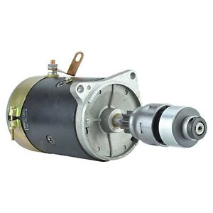 NEW Starter w/Drive for Ford New Holland Tractor 6000; 601 SERIES; 650; 660