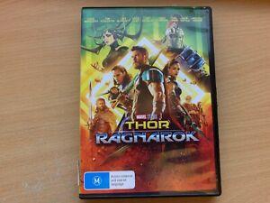 Thor Ragnarok Chris Hemsworth Cate Blanchett Tom Hiddleston (DVD 2017) R4