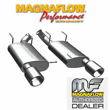"MAGNAFLOW 15595 2.5"" AXLE BACK DUAL EXHAUST KIT 2011-2012 FORD MUSTANG 3.7L"