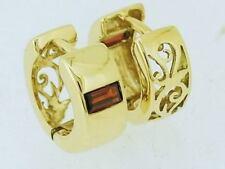 Hoop Natural White Gold Fine Earrings