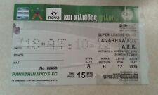 Panathinaikos AEK Atenas billete Estadio Olímpico de 2012-13