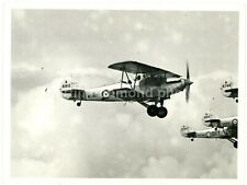 Hawker Hind Formation Large Original Flight Photo, BZ540