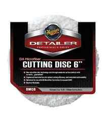 "Meguiar's DMC6 Detailer DA Microfiber Correction System 6"" Cutting Disc, 2 pack"
