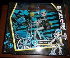 Monster High Boltin Frankie Stein Doll & Bike Set Mattel Toys NEW - FREE UK P&P