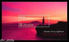Panoramic View of Gibraltar Souvenir Sheet mnh 2007 Trinity Lighthouse #1108