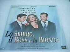 LO SBIRRO, IL BOSS E LA BIONDA / laserdisc film in italiano