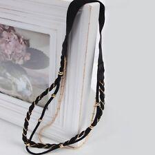Haarband Haarschmuck Haargummi Stirnband Haarband Kopfband Haarkette