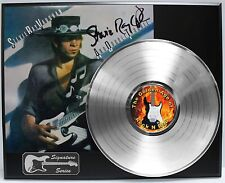 Stevie Ray Vaughan Reproduction Signature Platinum LP LTD Edition USA Ship Free