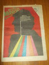 RECORD MIRROR JULY 22 1978 BRUCE SPRINGSTEEN RUNAWAYS RUBINOOS ROD STEWART