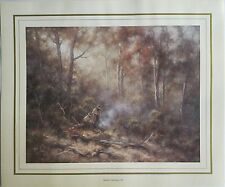 New Ramon Ward-Thompson Artist Painting Print - Medway Clearing NSW