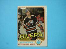 1981/82 O-PEE-CHEE NHL HOCKEY CARD #118 MARK MESSIER NM OC SHARP!! 81/82 OPC