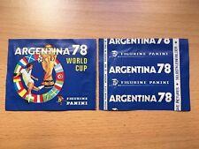PANINI WORLD CUP ARGENTINA 1978 SIGILLATO Nuovo di zecca pacchetto Istituto BUSTINA 78 WC-RARE