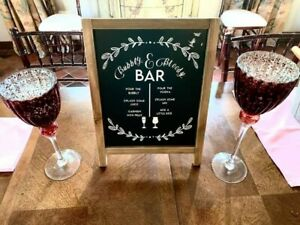 Wedding Decoration-Bubbly and Blood Mary Bar Sign