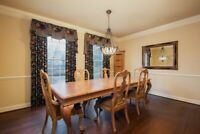Thomasville Dining Room Suite From The Santiago Collection