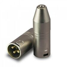 Campro Stereo 3.5mm Mini Female to Male XLR Audio Adapter