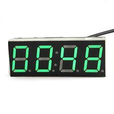 DIY LED Digital Horloge Module Electronique Microcontrôleur Temperature Voltage