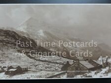 CRIB GOCH FROM LANBERIS PASS shows GORPHWY SFA HOTEL c1924 RP by Judges No.8498