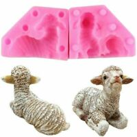 Sheep Silicone Mould 3D for Fondant Cake Decorating Baking Candy Mold  Tools DIY
