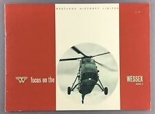 WESTLAND WESSEX MARK II HELICOPTER MANUFACTURERS SALES BROCHURE