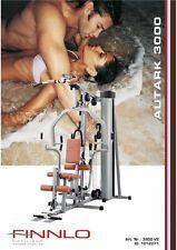 Finnlo Autark 3000 Manuale di assemblaggio Multi Gym