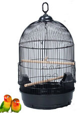 Round Dome Top Bird Flight Cage For Finches Canary Cockatiel Parakeet LoveBird