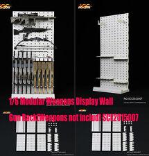 "*TOYS 1/6 Modular Weapons Display Wall Gun Rack 12"" Figure SCE2015007 *"