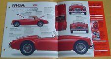 1959 MG MGA MKI 1 Convertible 4 Cyl 2 SU H4 Carbs 1588cc IMP Info/Specs/photo