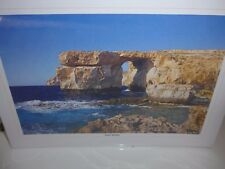 The Azure Window print in Gozo Malta