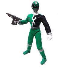 "12"" 1/6th escala Power Rangers SPD Espacio Patrulla Verde Figura Con Sonido FX"