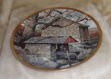 """Danbury Mint Eric Slone The American Countryside Spring House 9.25"""" Plate Usa"""