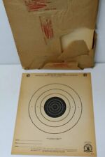 Lot 50 Vintage B-2 [B2] Nra Official 50 Foot Slow Fire Pistol Targets Tagboard