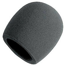 On Stage Foam Ball-Type Mic Anti Saliva Windscreen For Microphones New Schwarz