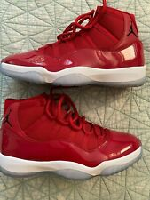 "Jordan Men's Retro 11 ""Win Like 96"" Red Size 13 Original Box WORN ONCE"