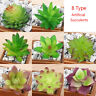 8 Type Artificial Succulents Plant Garden Miniature Landscape Floral Home Decor