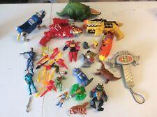 Random Lot Of 80s-90s Action Figures TMNT Power Rangers MOTU Voltron Thundercats