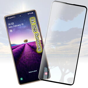 Für Samsung Galaxy S20 FE Panzerfolie Displayschutz Glas Schutzglas Schutz Folie