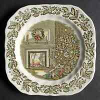 Johnson Brothers MERRY CHRISTMAS Square Salad Plate 280569