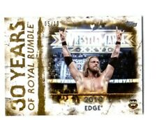 WWE Edge RR-19 2018 Topps Undisputed Gold Parallel Card SN 5 of 10