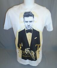 Justin Timberlake The 20/20 Experience World Concert Tour T-Shirt Size Large